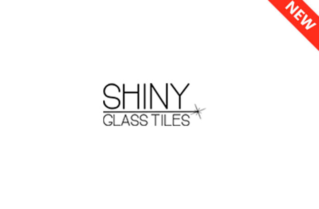 shiny glass tiles