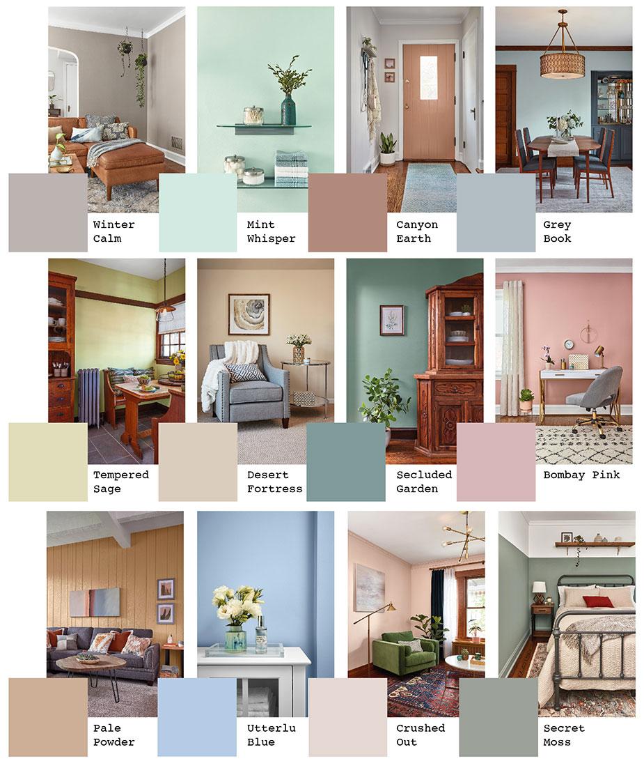 colori arredamento