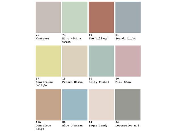 colore arredamento